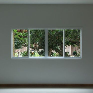 This is a picture of a set of two new sliding windows.